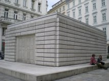 Rachel Whitered. Memorial to Austrian Jewish Victims of the Shoah. Vienna.