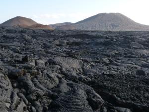 Landscape with lava